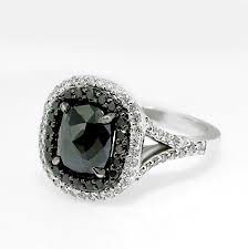 affordable black diamond ring