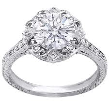 all about edwardian engagement rings