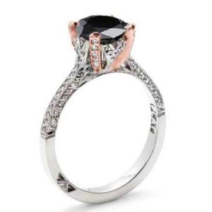 alternative black diamond ring