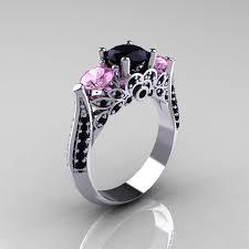amazing black diamond ring