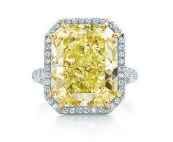 astonished yellow diamond engagement rings