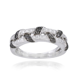 best afforadable black diamond ring