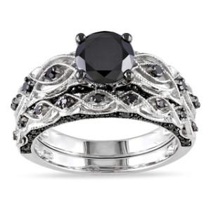 best black diamond ring design