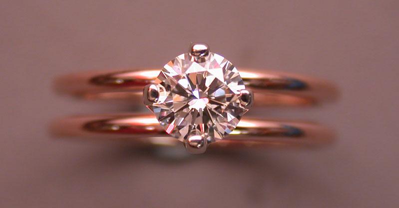 best rose gold diamond rings designs