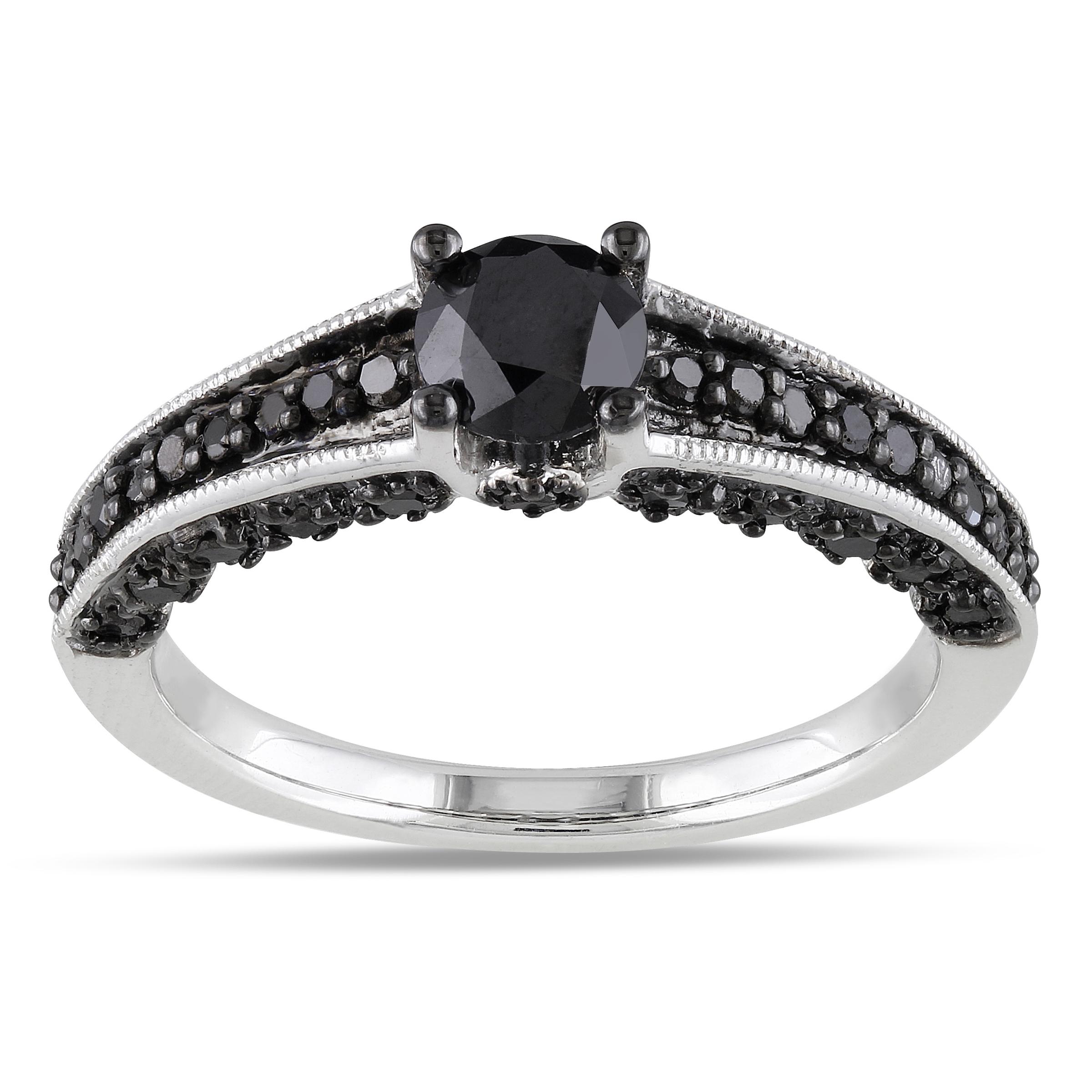 Black Diamond Wedding Rings synrgyus