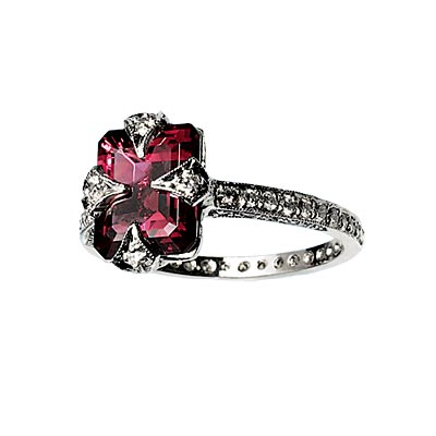 best unique colored engagement rings - Colored Wedding Rings
