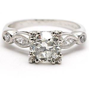 best vintage engagement ring design