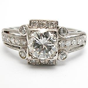 best vintage style engagement rings