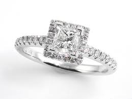 cool square engagement rings