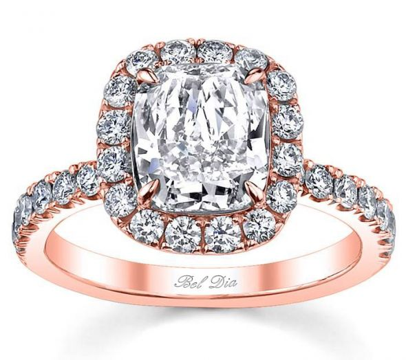 exquisite rose gold engagement rings - Rose Gold Wedding Rings For Women