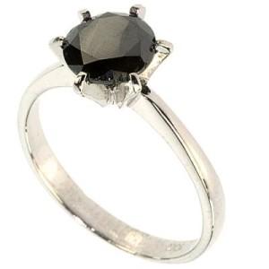 nice black diamond ring