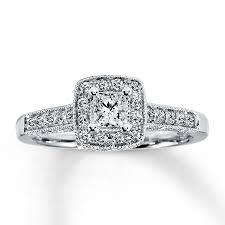 nice princess cut diamond engagement rings white gold