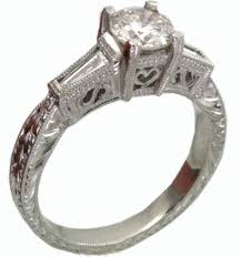 priceless antique platinum engagement rings