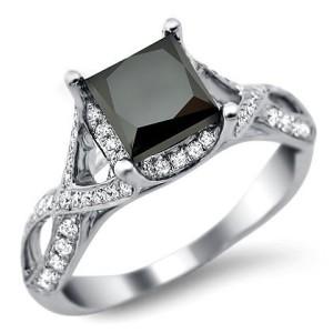 the best unique black diamond ring