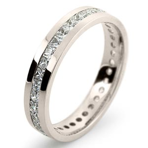 white gold rings wedding