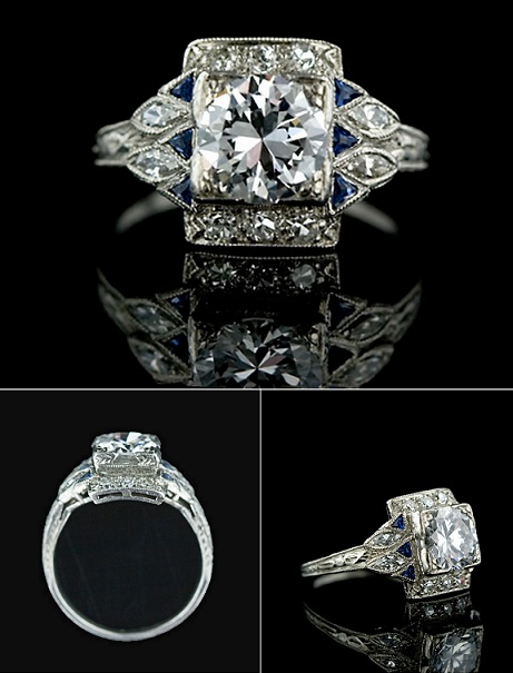 Beautiful Celebrity Style Engagement Rings