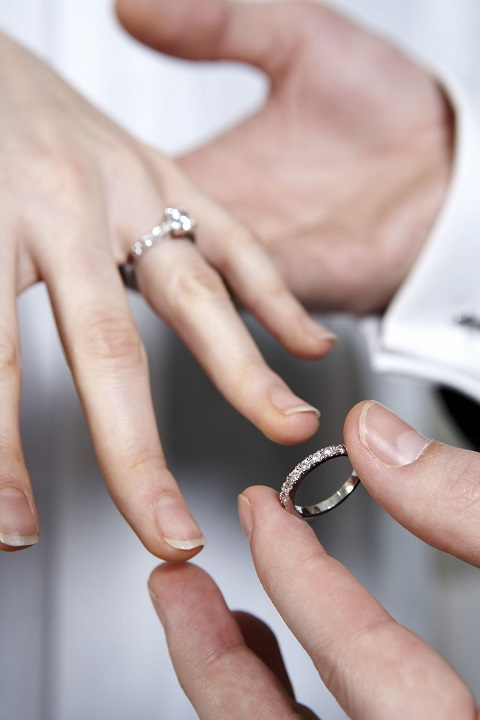 Wedding Rings Are A Symbol Of Vow Made By Two People To Be Together Forever