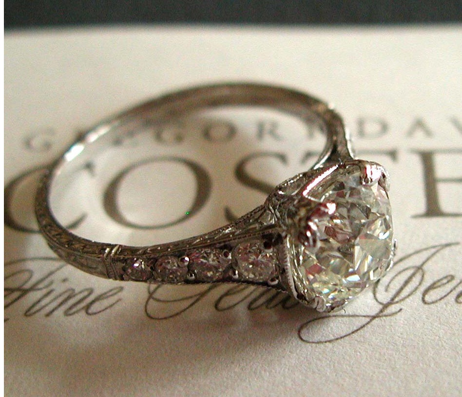 Unique Diamond Cushion Cut