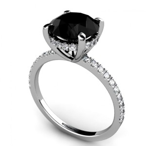 all black wedding rings all about black engagement rings black ring 1262